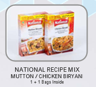 National Recipe Mix